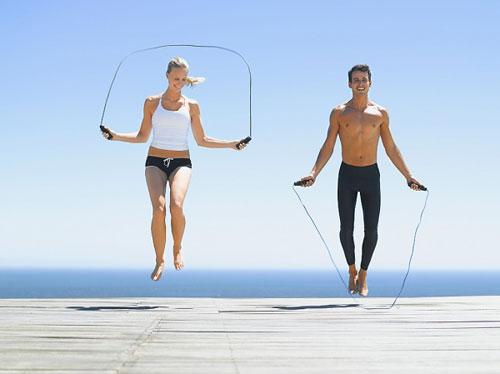 Nhảy dây giúp chân thon gọn, giảm stress hiệu quả