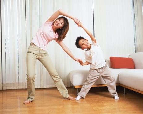 Thả lỏng cơ thể thư giãn sau khi tập