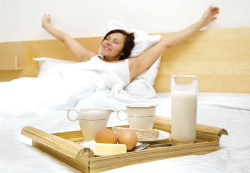 Không nên bỏ lỡ bữa sáng