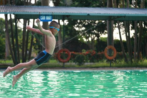 Bơi tăng chiều cao