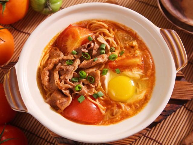 Mì bò trứng – thức ăn tăng chiều cao đơn giản cùng gia đình