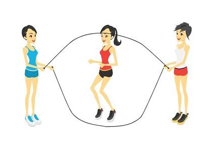 Nhảy dây đúng cách để tăng chiều cao cho bé  bằng nhảy ở độ khó cơ bản, nhảy nâng cao  giúp phát triển xương sụn nhanh chóng và rèn luyện sức khỏe hiệu quả...