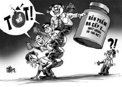 """Ở Việt Nam, thực phẩm chức năng đang bị lẫn lộn khái niệm với một loại hình kinh doanh mà khi du nhập vào nước ta đã bị biến tướng vô cùng xấu xí: Bán hàng đa cấp. Điều đó khiến những doanh nghiệp kinh doanh thực phẩm chức năng chân chính như Công ty TNHH Quốc tế Hoàn Mỹ (TVBuy) cũng bị """"hàm oan"""" theo."""