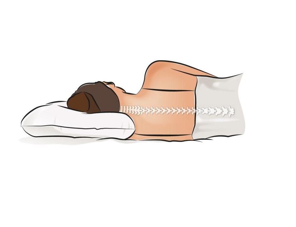 Ngủ với gối mỏng sẽ có tác dụng cao cho việc cải thiện chiều cao