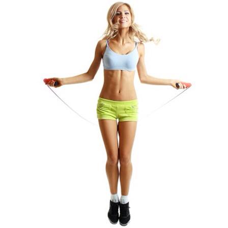 Nhảy dây là động tác tăng chiều cao đơn giản