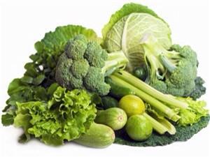 Có thể lấy dưỡng chất đó từ rau xanh