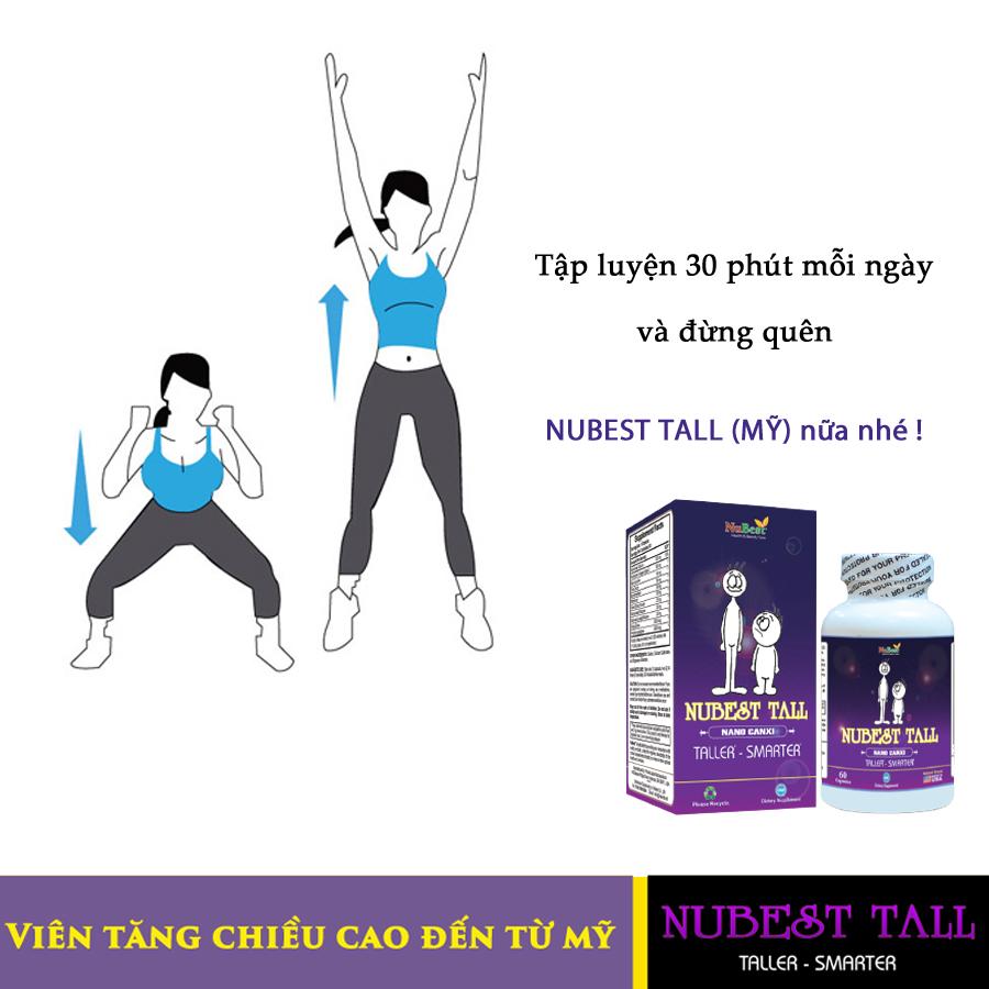 thể dục tăng chiều cao