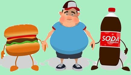Bệnh béo phì trẻ em với chiều cao và sức khỏe