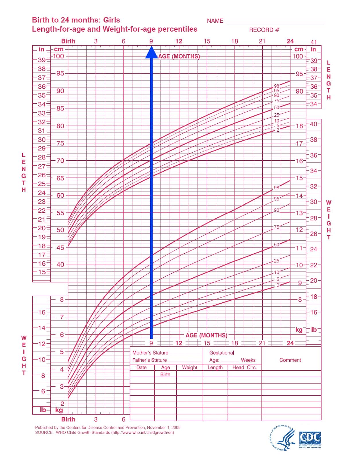 Lộ trình tăng trưởng chiều cao của trẻ 0-2 tuổi