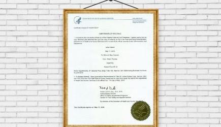 Chứng nhận FDA Hoa Kỳ cho sản phẩm NUBEST PLUS