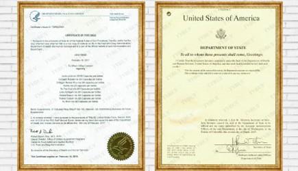 Chứng nhận FDA Hoa Kỳ cho sản phẩm Doctor Plus