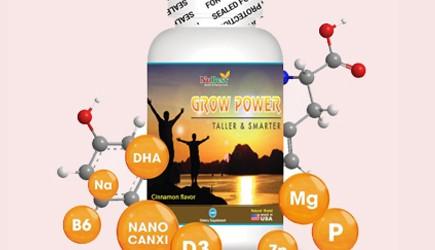 Chứng nhận FDA Hoa Kỳ cho sản phẩm GROW POWER