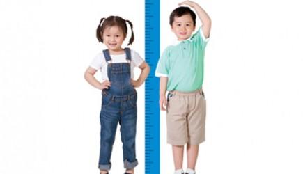 Để trẻ đạt chiều cao lý tưởng