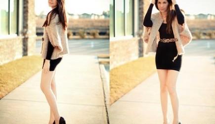 Những kiểu váy giúp ăn gian chiều cao cho các cô nàng hạt tiêu