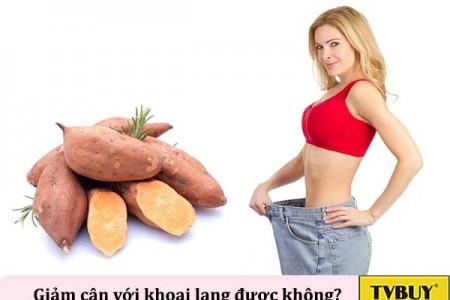 Công dụng bất ngờ của khoai lang với việc giảm cân cho phái đẹp