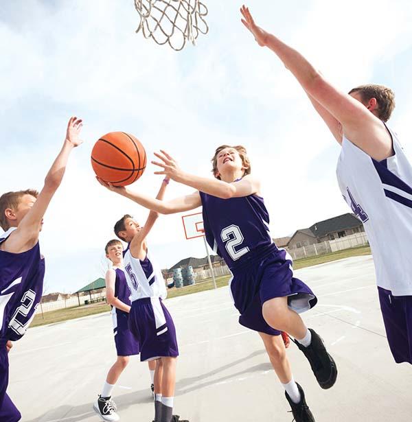 bóng rổ tăng chiều cao