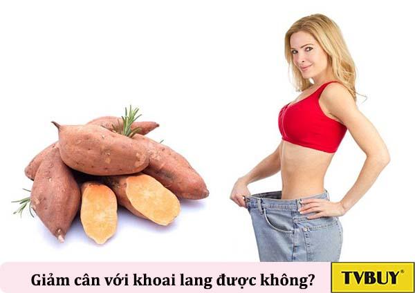 khoai lang giúp giảm cân hiệu quả