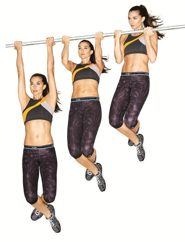 bài tập gym treo xà đơn giúp tăng chiều cao