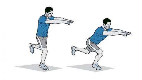 bài tập nhảy chân đơn giúp cải thiện chiều cao hiệu quả