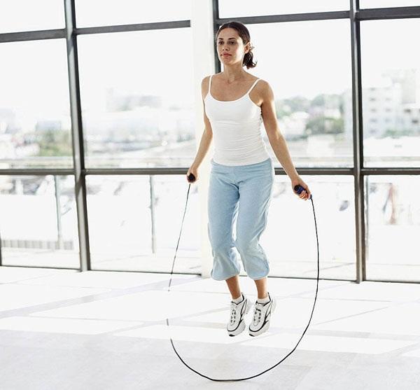 bài tập nhảy dây tăng chiều cao