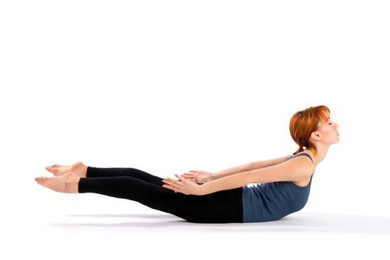 bài tập yoga tăng chiều cao tư thế cào cào