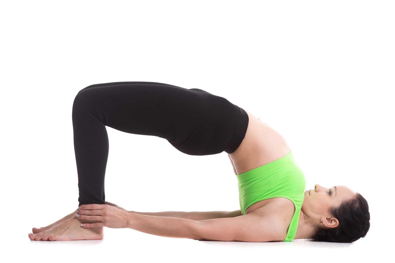 bài tập yoga tăng chiều cao tư thế cây cầu