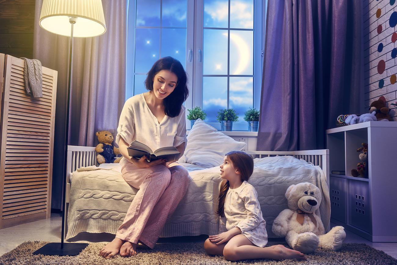 cách để giúp trẻ 3-9 tuổi ngủ ngon