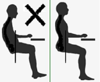 Ngồi chuẩn dáng để xương phát triển
