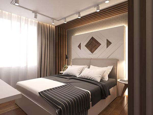 Phòng ngủ cần thoải mái, yên tĩnh