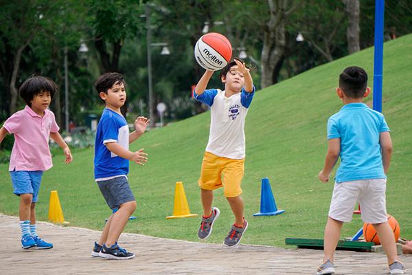 Vận động rất tốt cho sự phát triển chiều cao của trẻ
