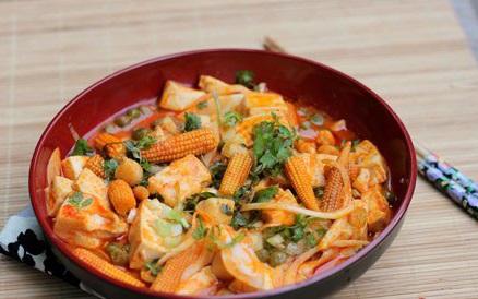 Cách ăn uống tăng chiều cao từ đậu phụ và sò điệp