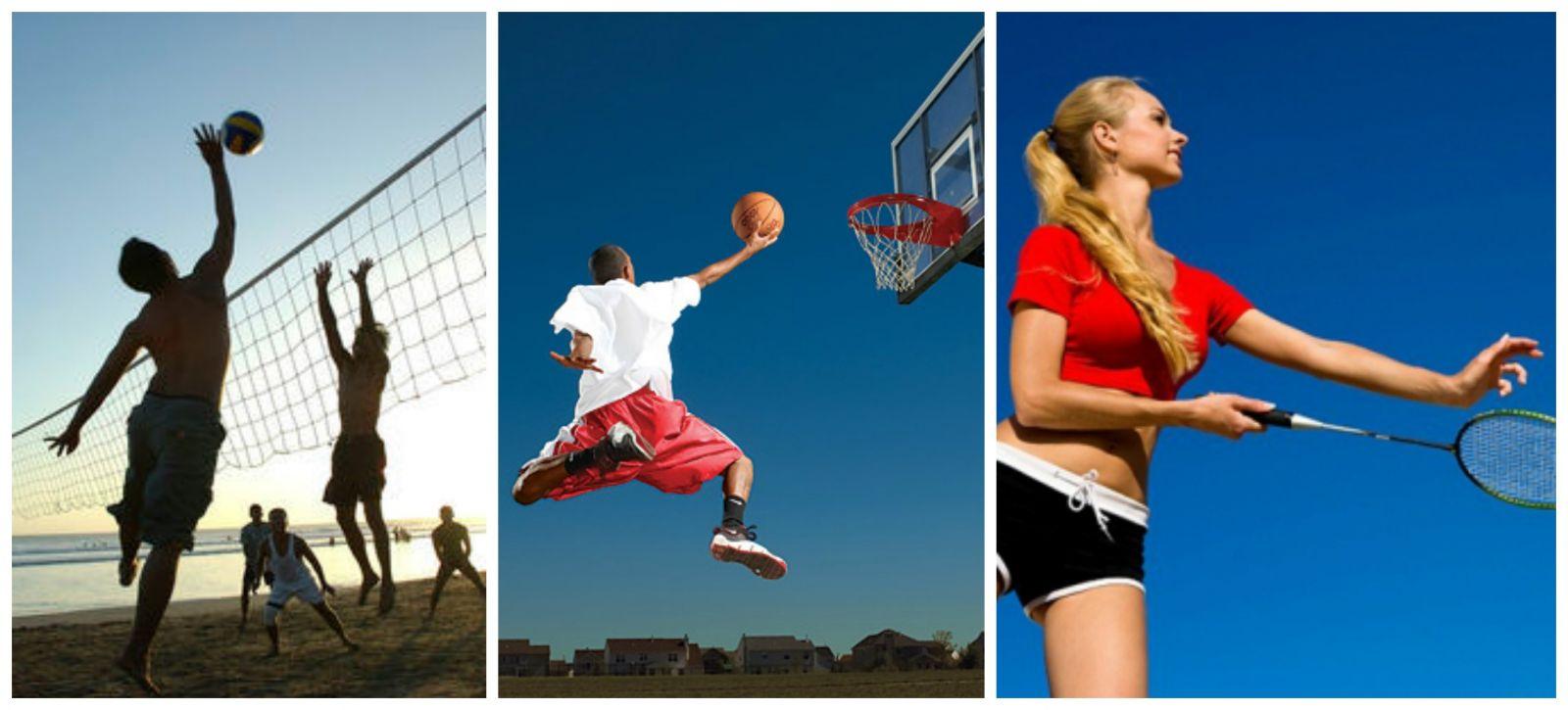 luyện tập các môn thể thao như cầu lông, bóng chuyền, bóng rổ giúp tăng chiều cao hiệu quả