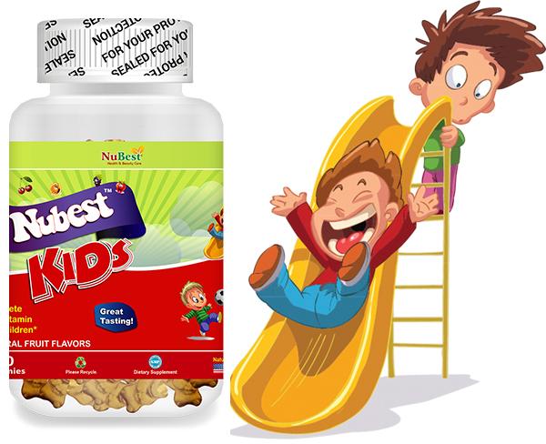 Nubest Kids bổ sung vitamin và khoáng chất cần thiết cho trẻ nhỏ