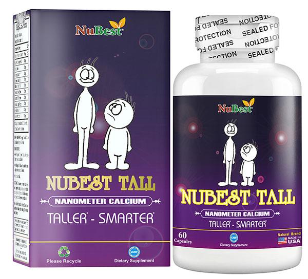 Thực phẩm bảo vệ sức khỏe hỗ trợ tăng chiều cao NuBest Tall