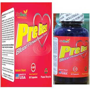 Pre Best hỗ trợ điều trị và phòng chống các bệnh huyết áp