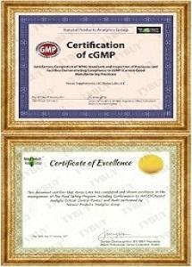 Chứng nhận cGMP và HACCP