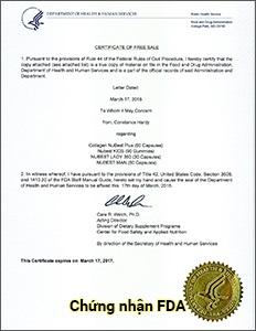 FDA Hoa Kỳ - Viên uống sáng da Nubest Lady