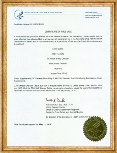 FDA Hoa Kỳ - Viên chống lão hóa Nubest Plus