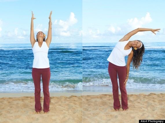 Bài tập nghiêng người giúp căng giãn cơ hiệu quả để tăng chiều cao cho người trưởng thành ở tuổi 23