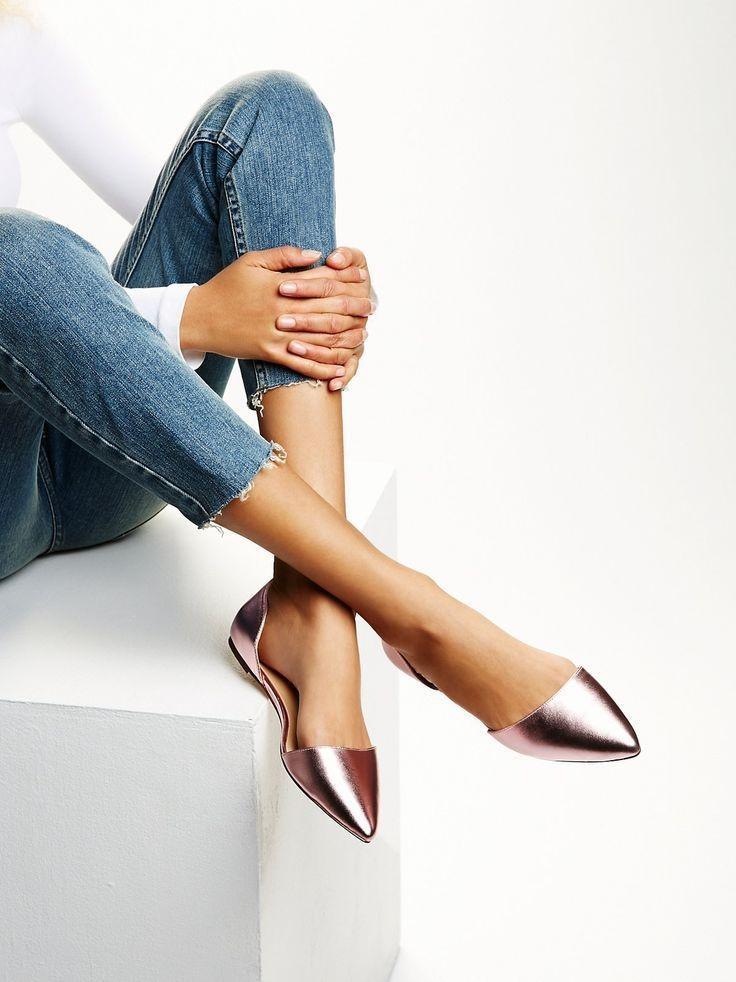 Thay thế giày cao gót bằng giày bệt cách tăng chiều cao tuổi 15