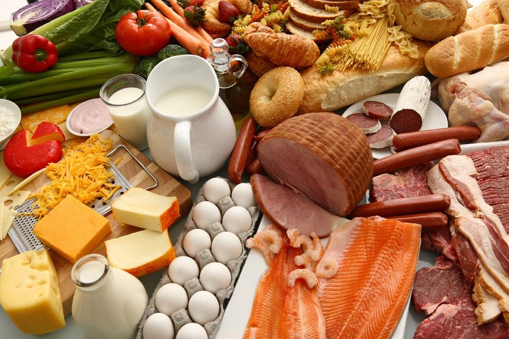 Thực phẩm chứa nhiều protein
