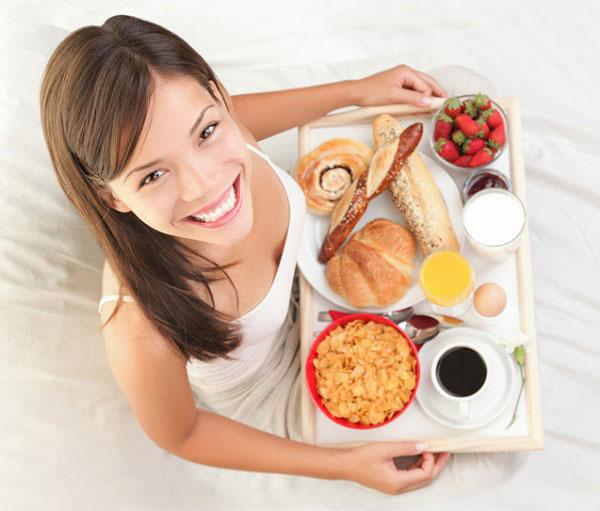Bữa sáng dinh dưỡng giúp chiều cao phát triển tối đa