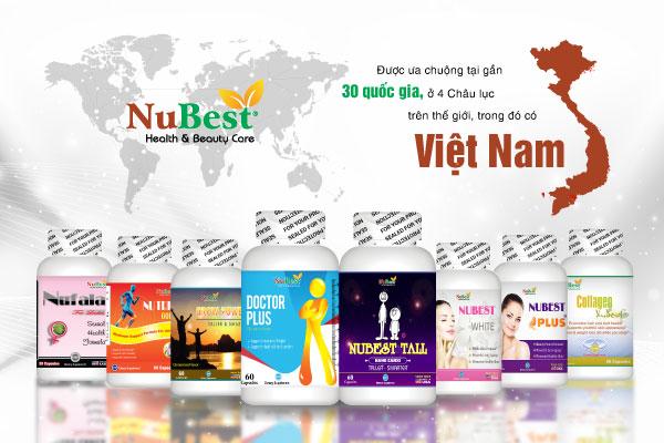 NUBEST - Đơn vị phân phối các sản phẩm chăm sóc sức khỏe uy tín tại Mỹ