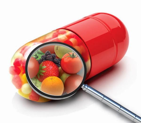 Ngoài chế độ ăn uống hàng ngày có thể bổ sung các dưỡng chất bằng TPCN