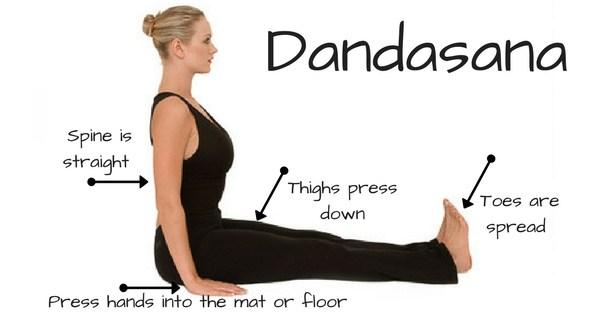 bài tập tư thế Dandasana