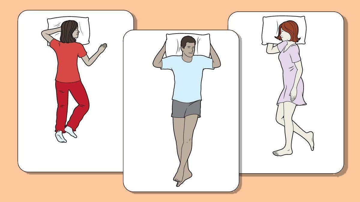 tư thế năm ngủ tăng chiều cao