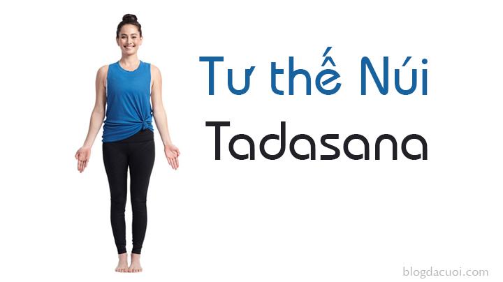 tư thế yoga tadasana
