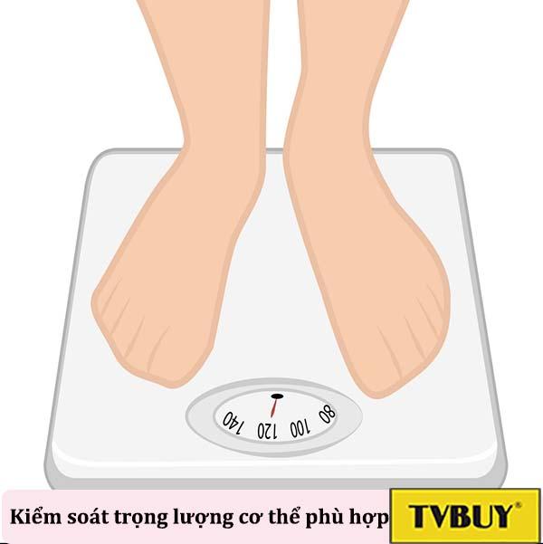 kiểm soát trọng lượng cơ thể