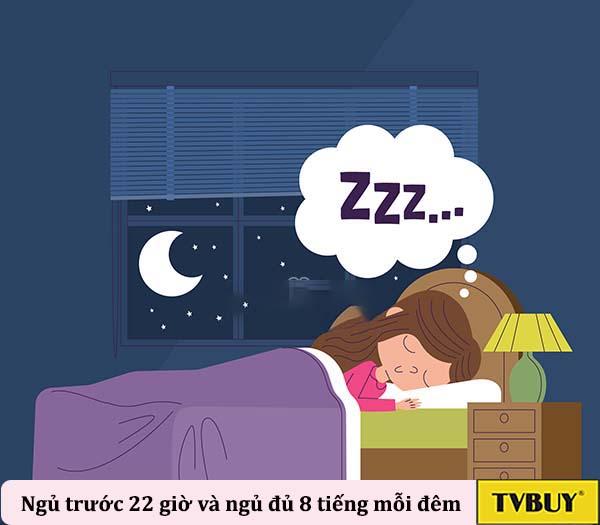ngủ trước 22h
