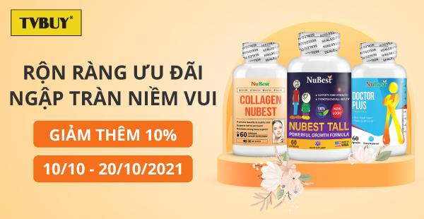 TVBUY rộn ràng ưu đãi chào mừng ngày Phụ nữ Việt Nam 20/10